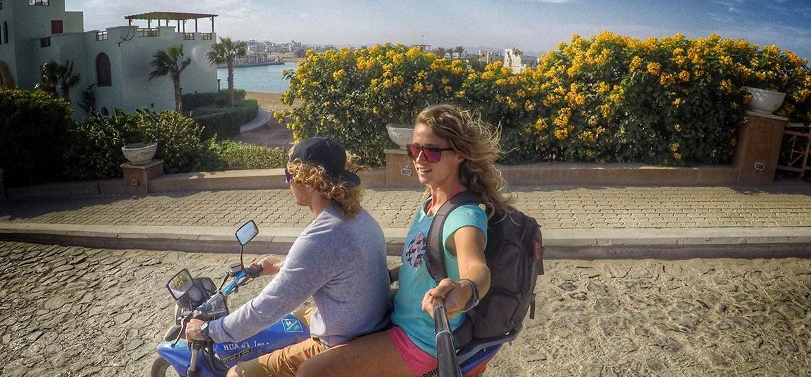 Kurs kite + relacje z wakacji El Gouna