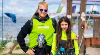 Kurs kitesurfingu z radiem