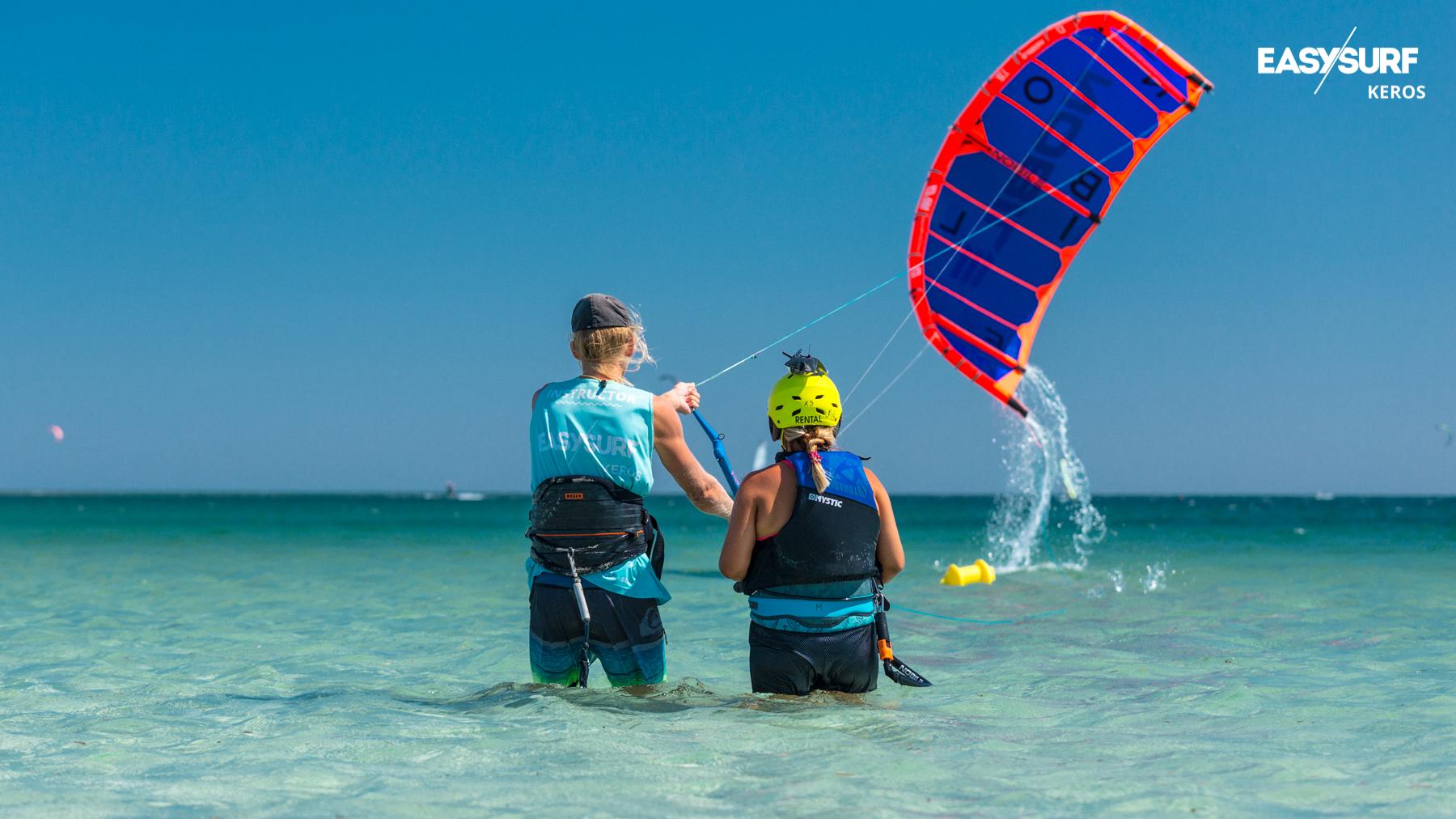 Kurs kitesurfingu - grupowo czy indywidualnie?